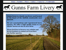 Tablet Preview of gunnsfarmliveryipswich.co.uk
